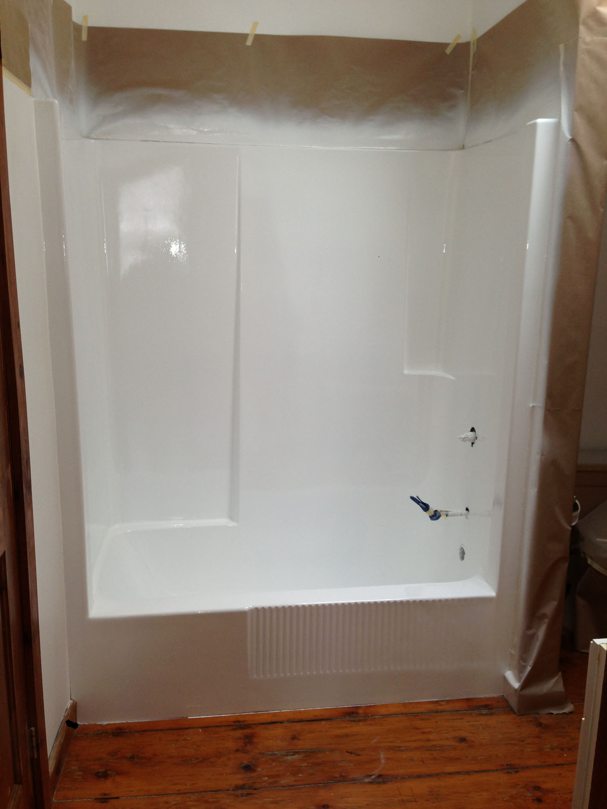 best and shower modular one combo fiberglass bathtub surround oval kit tub piece stall deep units corner