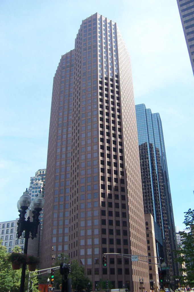 60 State St. Building in Boston - Site of Commercial Refinishing by Bay State Refinishing & Remodeling