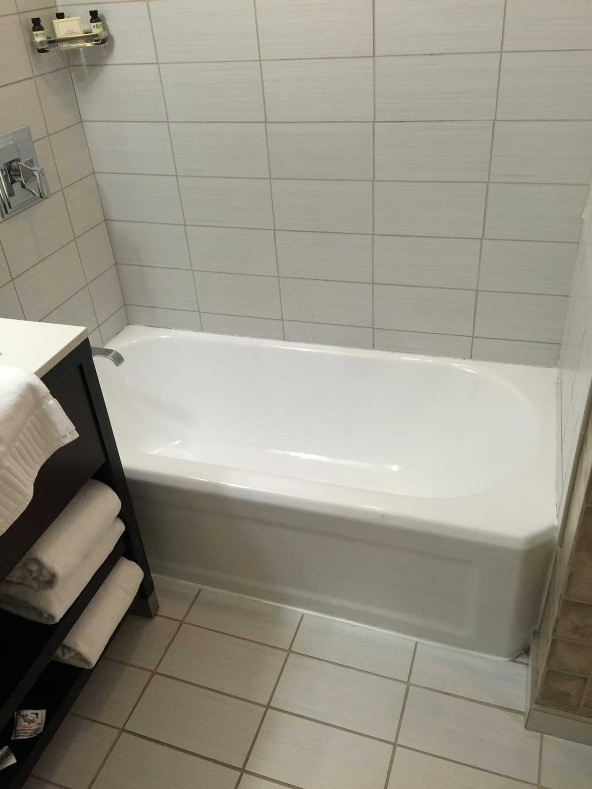 Copley Square Hotel Bathtub After Reglazing