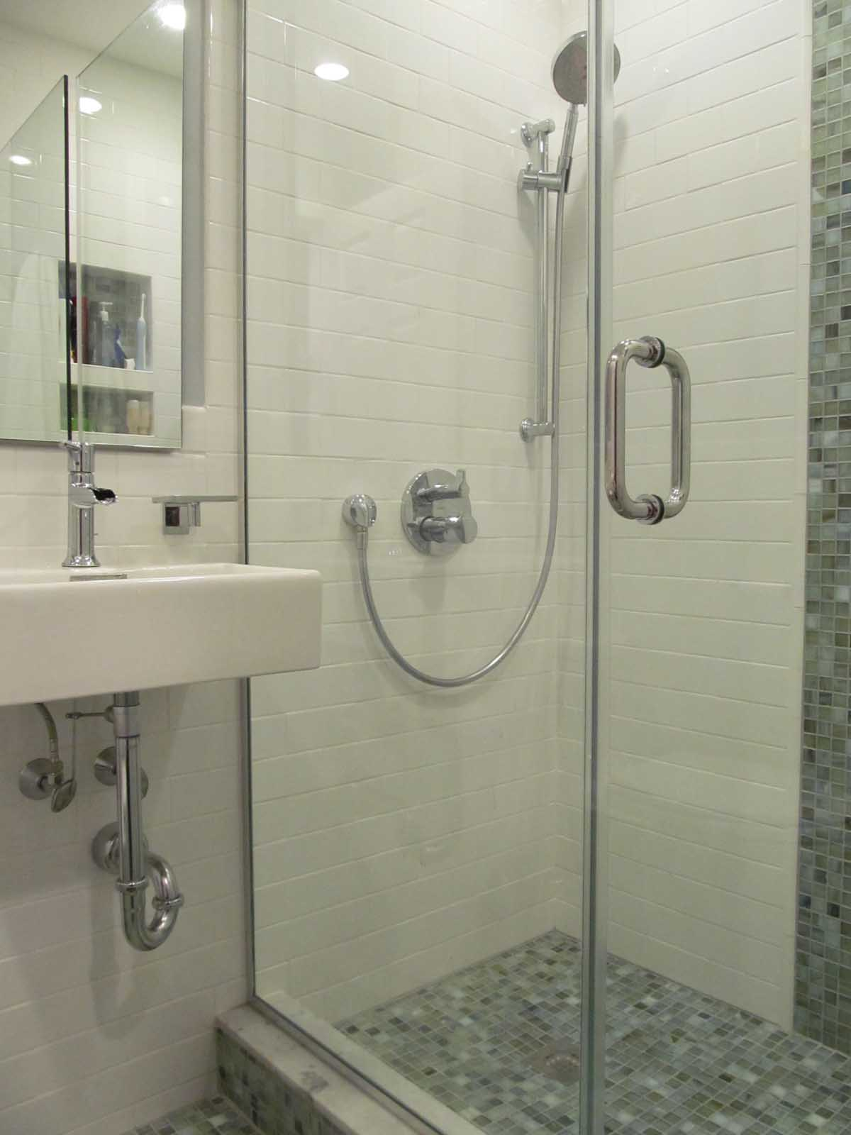 Shower Details - Bathroom Remodel - Bay State Refinishing & Remodeling