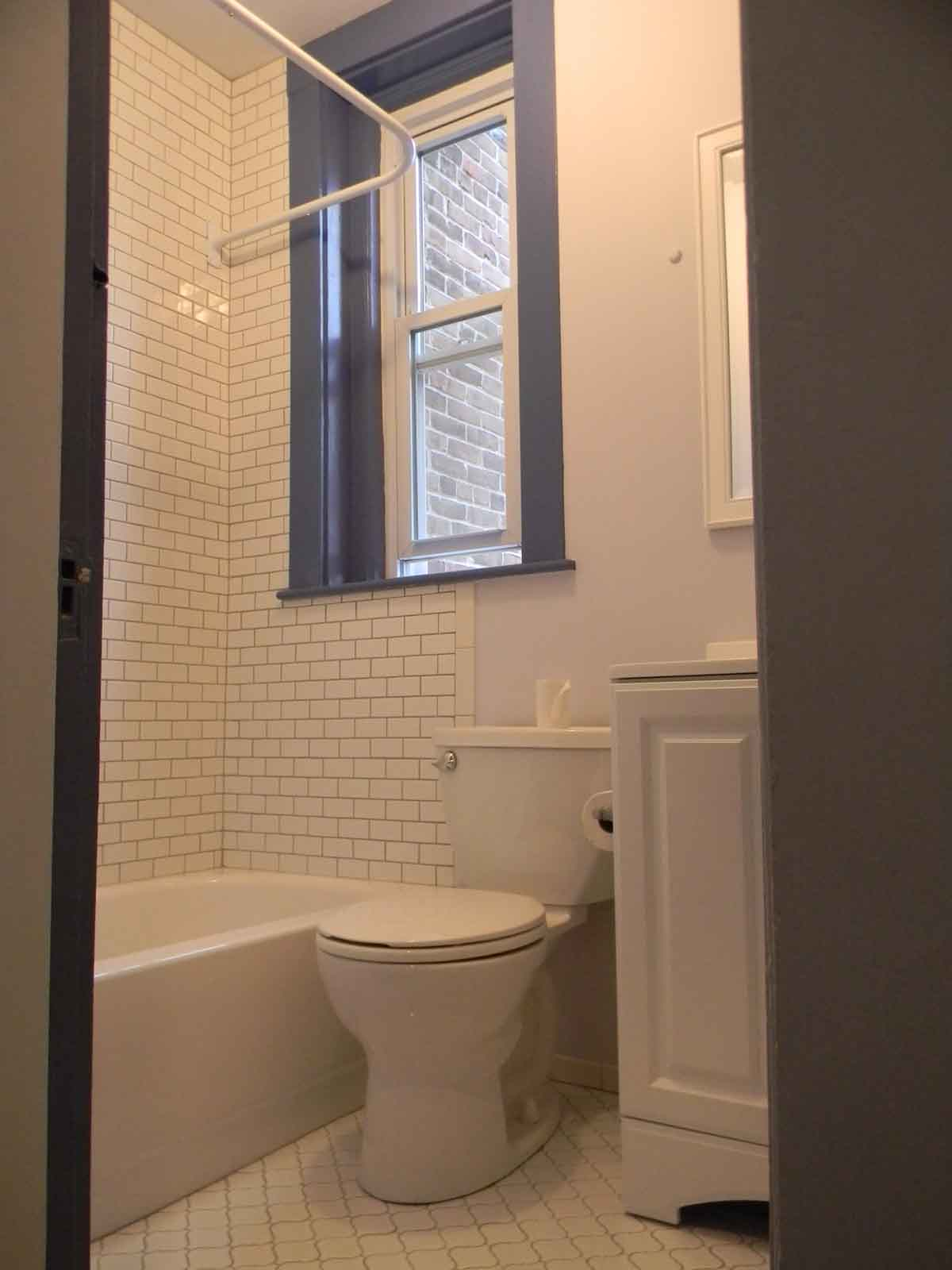 Cottage St. Cambridge - After Bathroom Remodel - New Spacious Layout with Hidden Plumbing