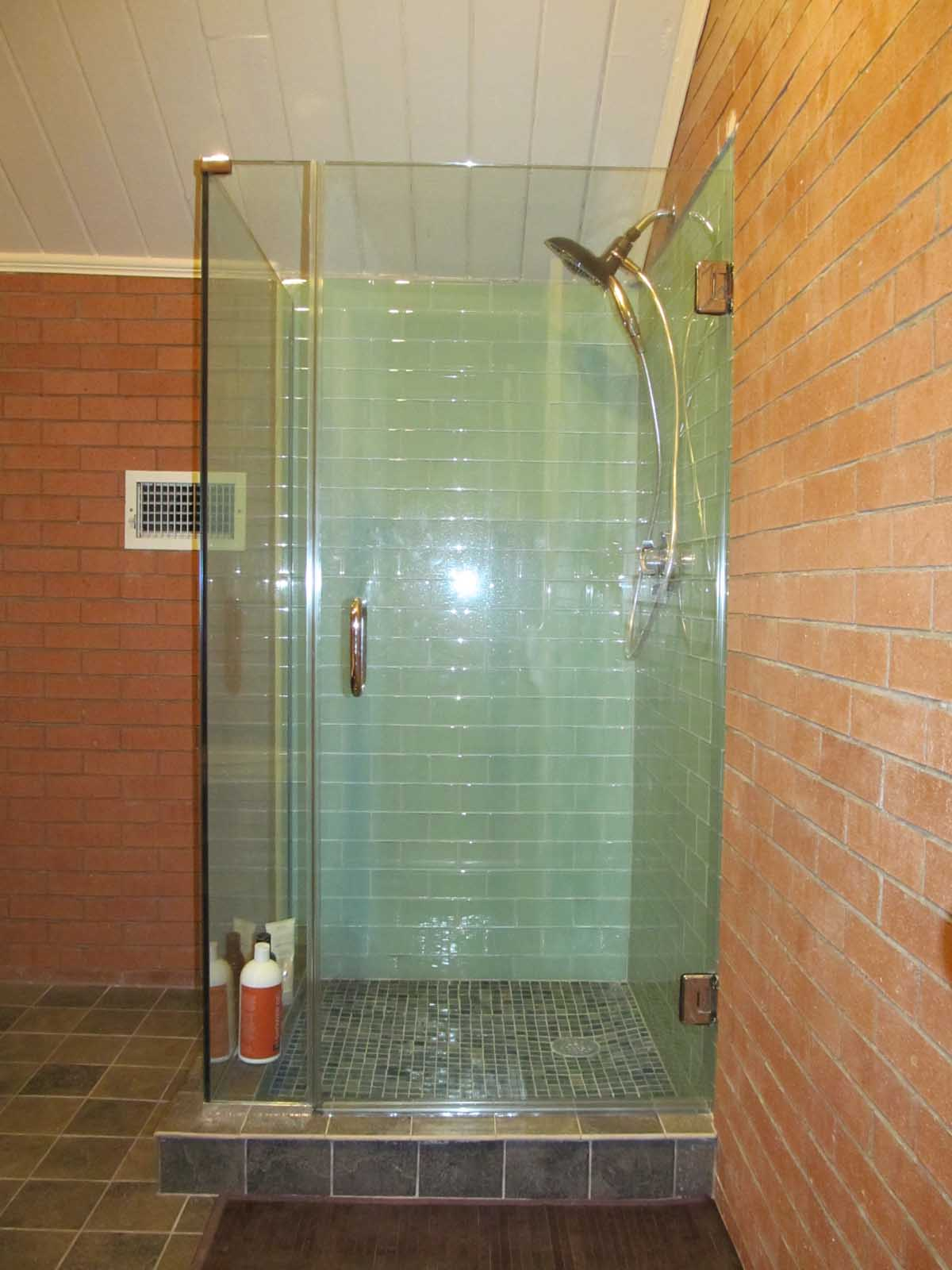 Updated Glass Enclosed ShowerDerby Sq. Salem by Bay State Refinishing & Remodeling