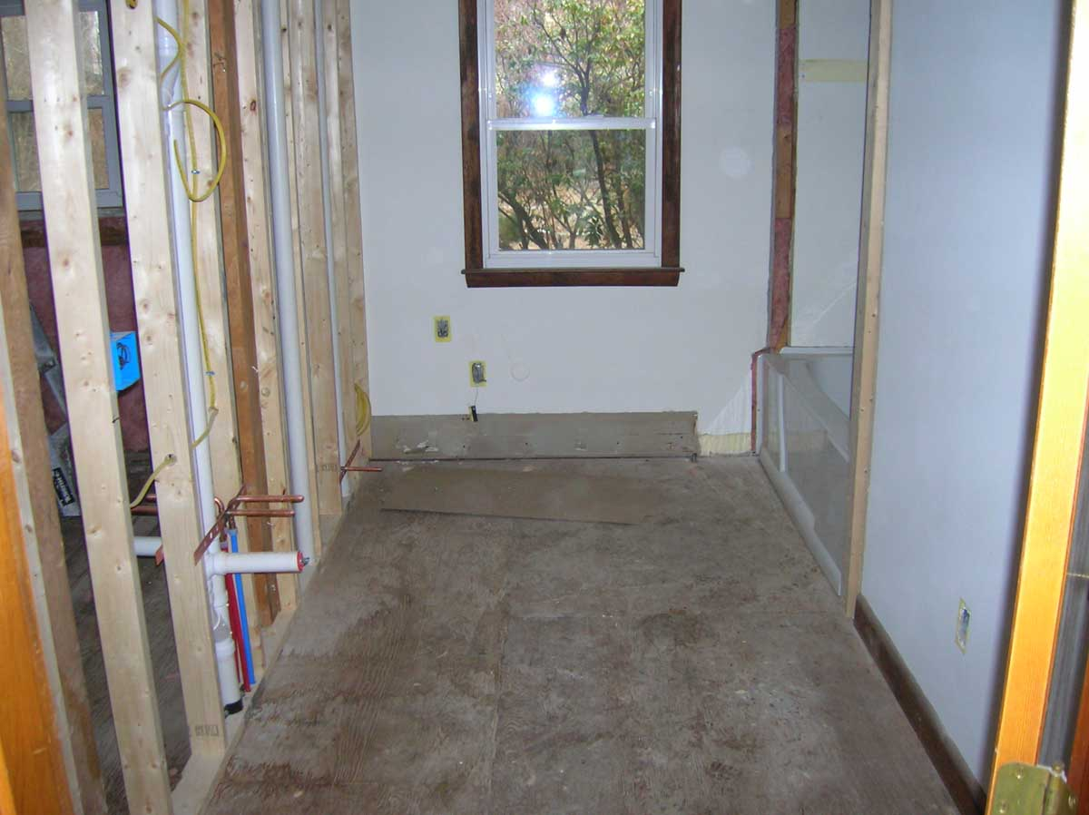 Harvard Ave. Brookline - Before Bathroom Remodel