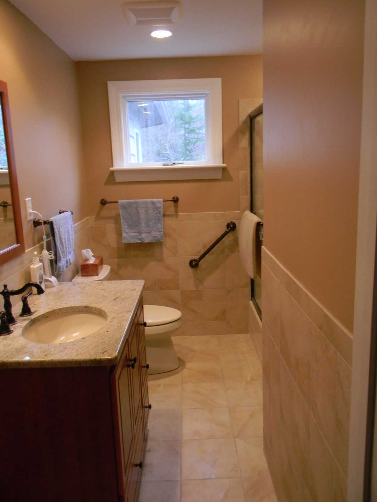 Noon Hill Rd. Medfield - After Renovation showing shower grab bar