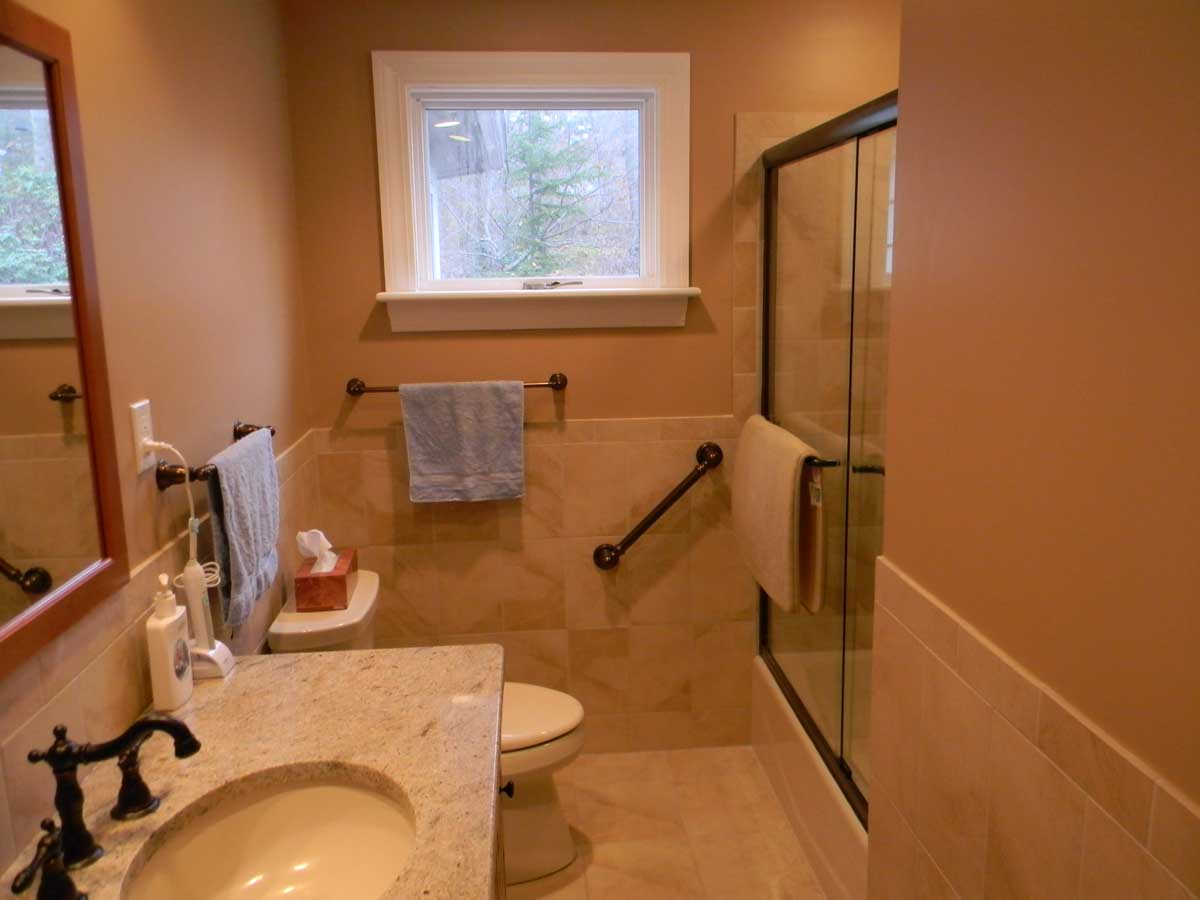 Noon Hill Rd. Medfield - After Renovation showing grab bar
