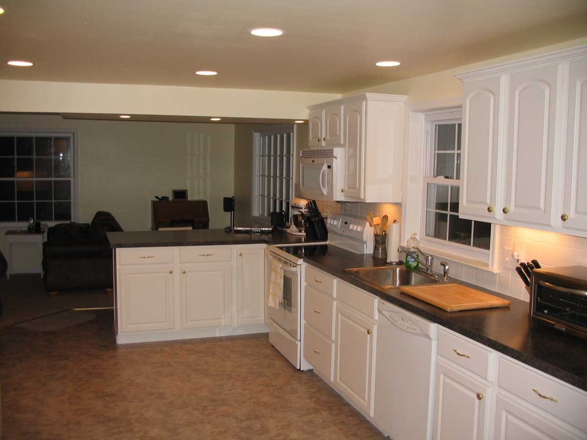 Finished kitchen remodel - Waltham MA