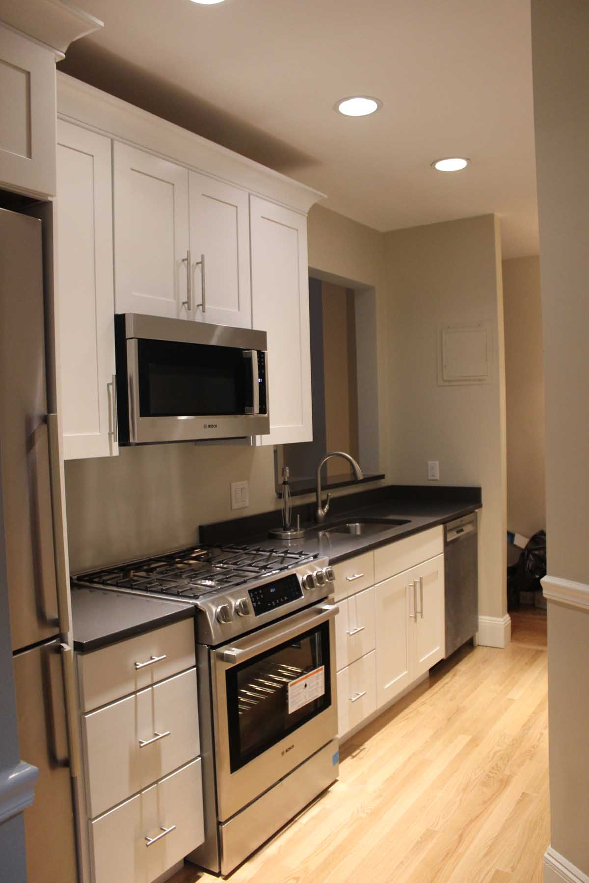 After Arlington kitchen remodel - Bay State Refinishing & Remodeling