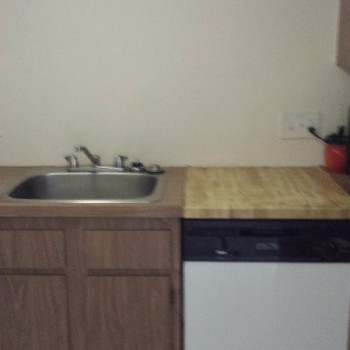 Kitchen before remodeling - Broadlawn Park, West Roxbury