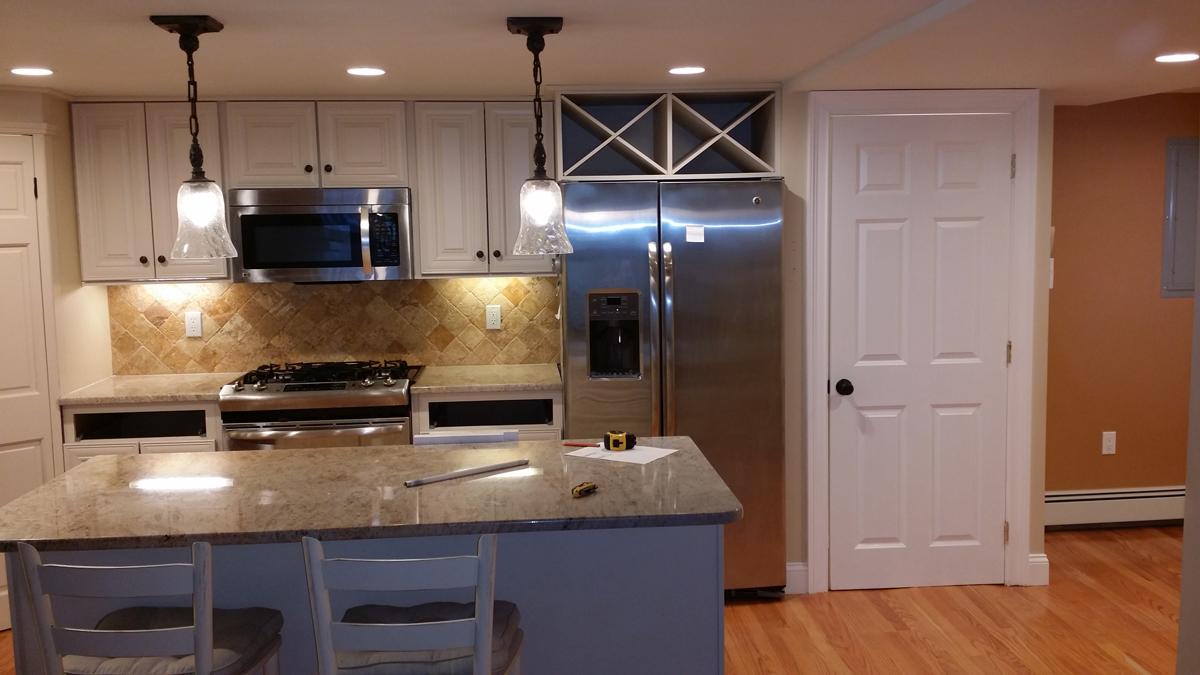 Cambridge Kitchen Remodel | Bay State Refinishing