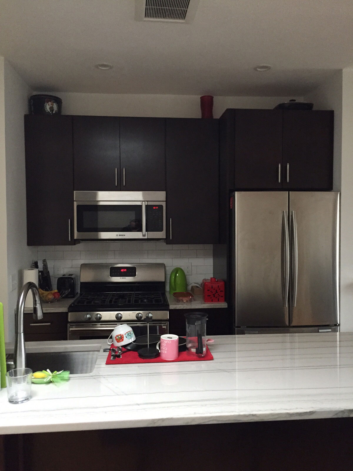 Boston Condo Kitchen Remodel - Bay State Refinishing & Remodeling