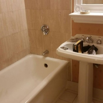 Omni Parker House Hotel - Bathtub Refinishing - Before - Boston MA