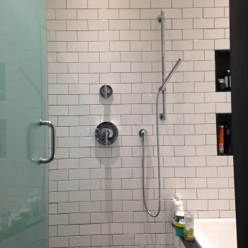 Shower Stall - Bathroom Remodel - Bay State Refinishing & Remodeling