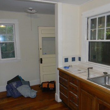 Brookline kitchen before remodeling