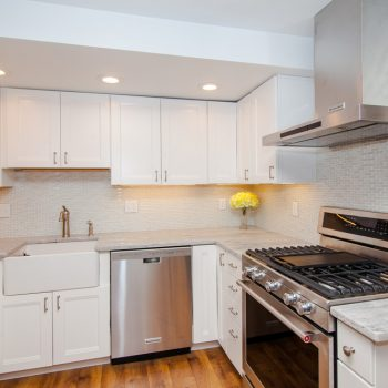 Kitchen Remodel - Cambridge MA - Bay State Refinishing & Remodeling