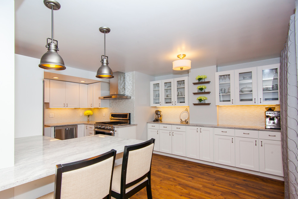 Modern Kitchen Remodel in Cambridge MA - Bay State Refinishing & Remodeling