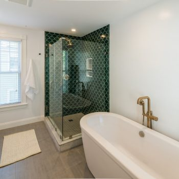 Bathroom Remodel - Bruce St. Boston MA - Premium Fixtures - Bay State Refinishing & Remodeling