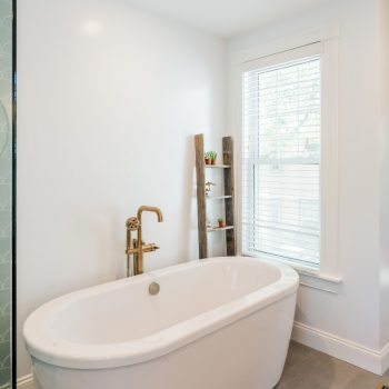 Free Standing Tub Bathroom Remodel - Boston MA - Bay State Refinishing & Remodeling