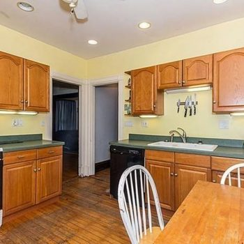 Kitchen Redecorate and Remodel - Bruce St Boston - Before - Bay State Refinishing & Remodeling
