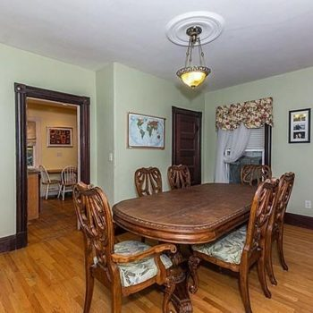 Dining Room Remodel - Bruce St Boston - Before