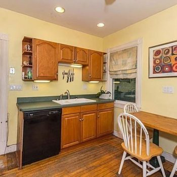 Kitchen Remodel - Before - Bruce St. Boston - Bay State Refinishing & Remodeling