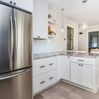 Contemporary Kitchen Remodel - Arlington MA - Bay State Refinishing & Remodeling