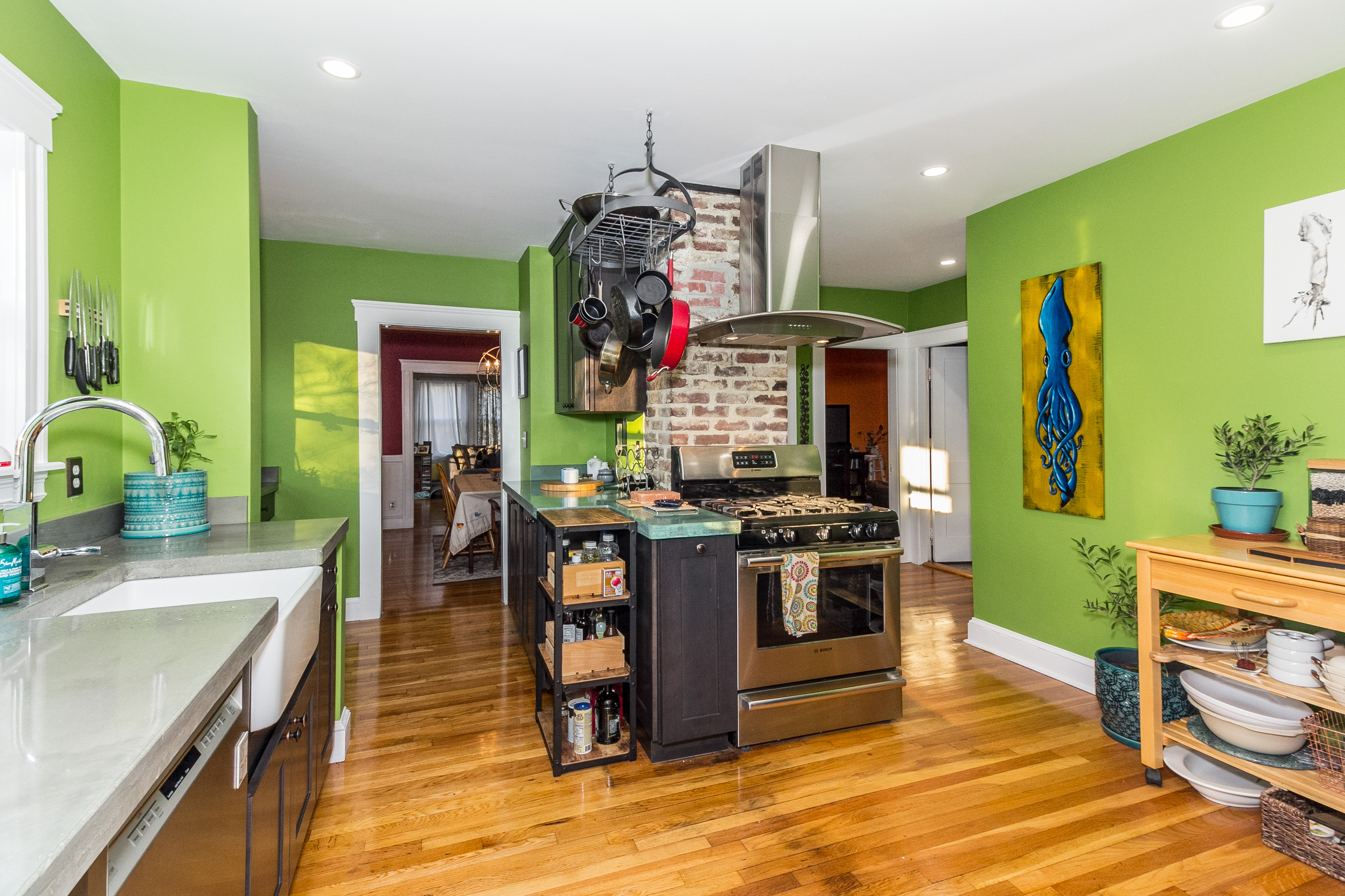 Minot St Kitchen Remodel - Boston MA - Bay State Refinishing & Remodeling