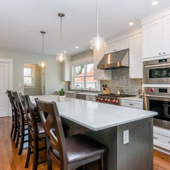 3- Open Concept Kitchen Remodel - Grasmere St - Bay State Refinishing